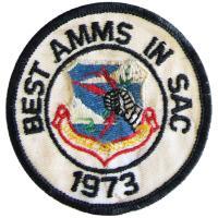 Strategic Air Command - Best Airborne Missile Maintenance Squadron in SAC 1973