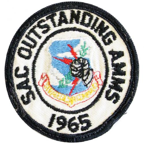 Strategic Air Command - Outstanding Airborne Missile Maintenance Squadron 1965