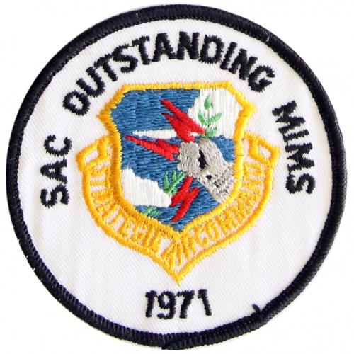 Strategic Air Command - Outstanding Missile Maintenance Squadron 1971
