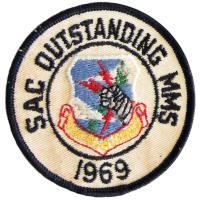 Strategic Air Command - Outstanding Munitions Maintenance Squadron 1969