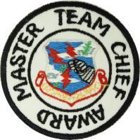 Strategic Air Command - (ICBM) Master Team Chief (Style A)