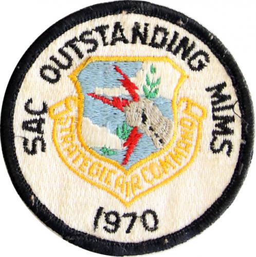 Strategic Air Command - Outstanding Missile Maintenance Squadron 1970