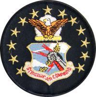 Strategic Air Command -  SAC Crest with Eagle   Stars  (Style B)