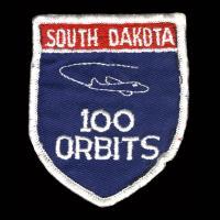 4th Airborne Command Control Squadron - 100 Orbits South Dakota