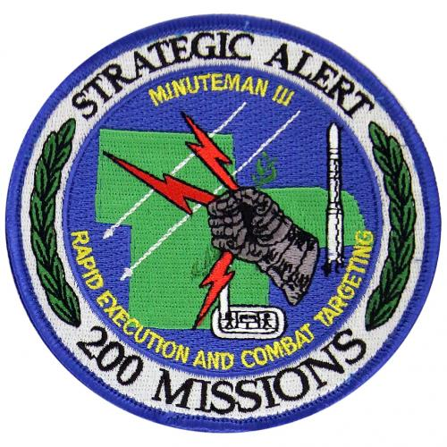 90th Space Wing & 90th Missile Wing - 200 Missions