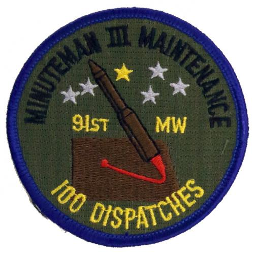 91st Missile Wing MM III Maintenance - 100 Dispatches
