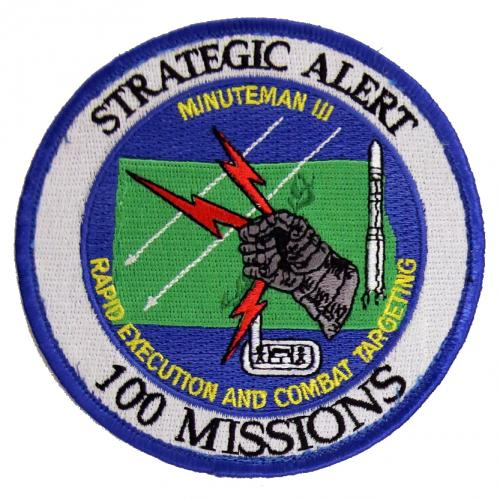 91st Space Wing & 91st Missile Wing - 100 Missions