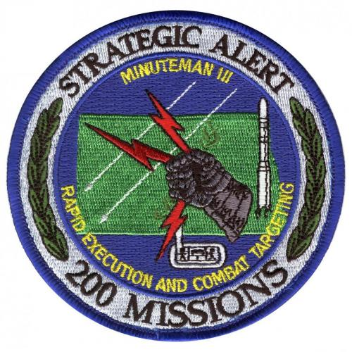 91st Space Wing & 91st Missile Wing - 200 Missions