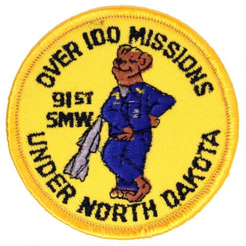 91st Strategic Missile Wing - 100 Missions (Style A)