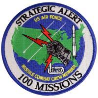 U.S. Air Force Missile Combat Crew Member - 100 Missions