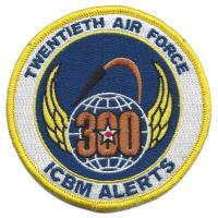 Twentieth Air Force - 300 Alerts