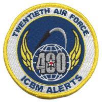 Twentieth Air Force - 400 Alerts