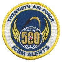 Twentieth Air Force - 500 Alerts