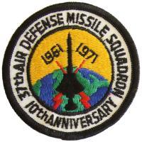 1971 - 37th Air Defense Missile Squadron, 10th Anniversary, 1961-1971 (c. 1 June)