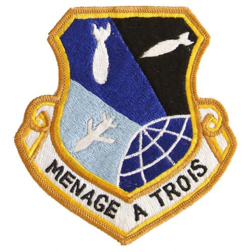 1985 - 416th Bombardment Wing, Menage a Trois (13 August)