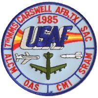 1985 - 7th Munitions Maintenance Squadron, ALCM OAS CMI SRAM, Carswell AFB, TX