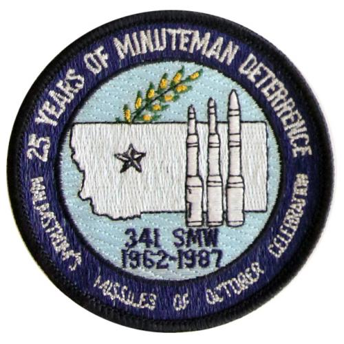 1987 - 341st Strategic Missile Wing, 25th Anniversary, 1962-1987 (26 October)