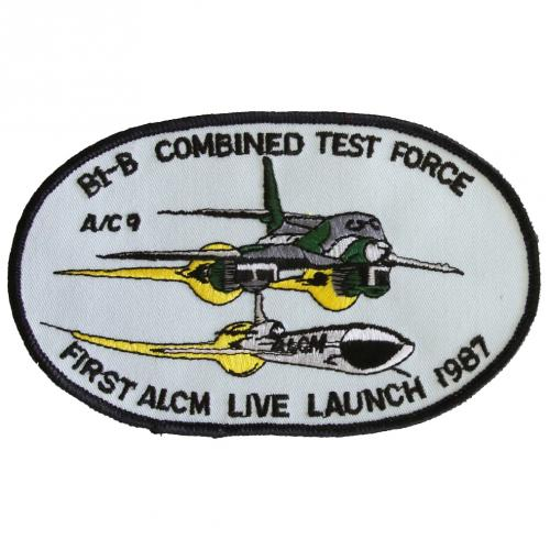 1987 - B-1B Combined Test Force, First ALCM Live Launch