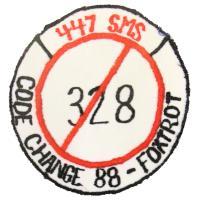 1988 - 447th Strategic Missile Squadron, Foxtrot Flight, Code Change 88