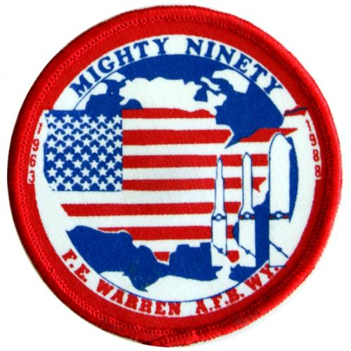 1988 - 90th Strategic Missile Wing, 25th Anniversary, 1963-1988 (1 July)