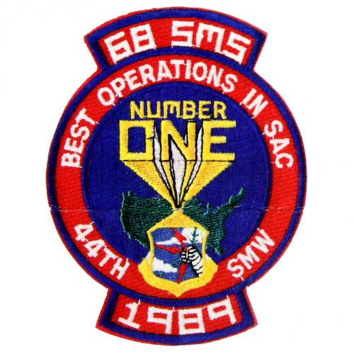 1989 - 68th Strategic Missile Squadron - Best Operations in SAC