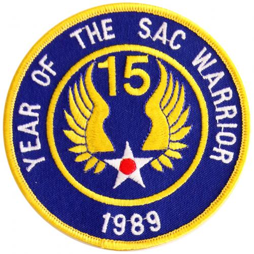 1989 - Fifteenth Air Force - Year of the SAC Warrior