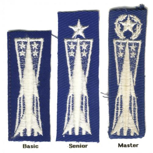 Missile Badge (Type II, Style D, Variety 3)