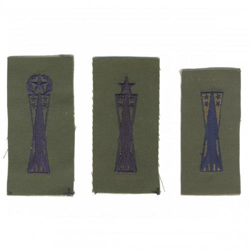 Missile Badge & Missile Maintenance Badge (subdued for green fatigues and BDU)