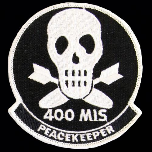 400th Missile Squadron - Peacekeeper (Style A: 'MIS')