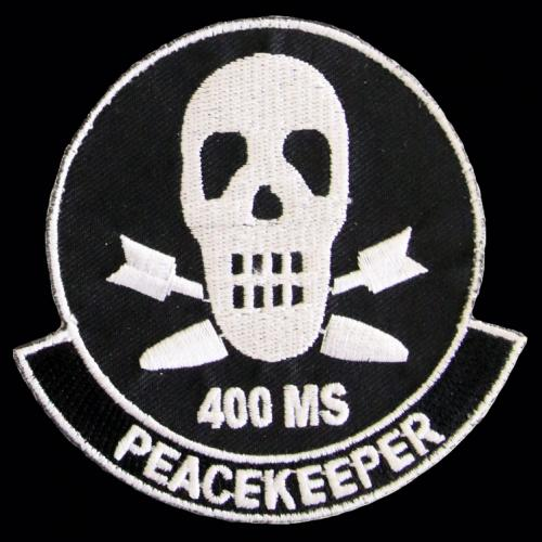 400th Missile Squadron - Peacekeeper (Style B: 'MS')