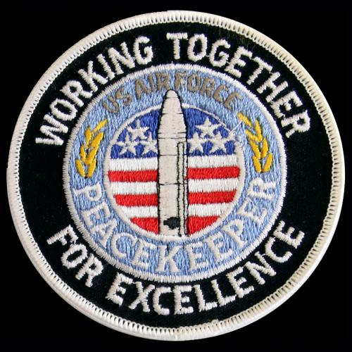 Peacekeeper (&) U.S. Air Force - Working Together For Excellence