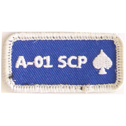 A-01 SCP (with ace of spades)
