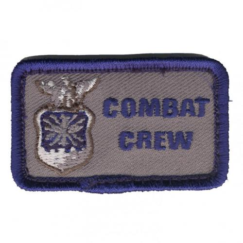 COMBAT CREW (with USAF shield & crest)