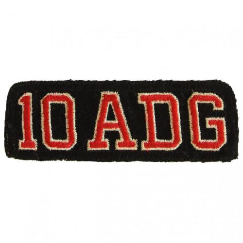 10th Aerospace Defense Group (hat patch)