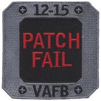 12-15 Patch Fail VAFB