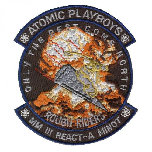 Atomic Playboys MM III REACT-A Minot Rough Riders - Only the Best Come North