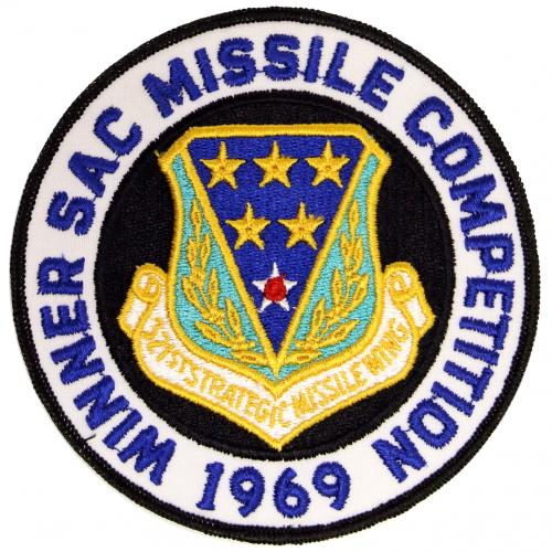 1969 SAC Missile Competition - Winner