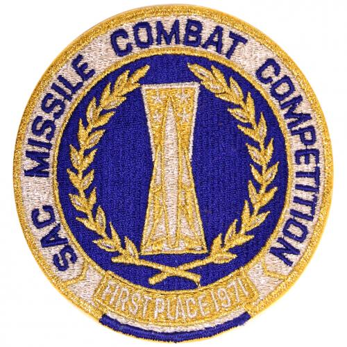 1971 SAC Missile Combat Competition - First Place