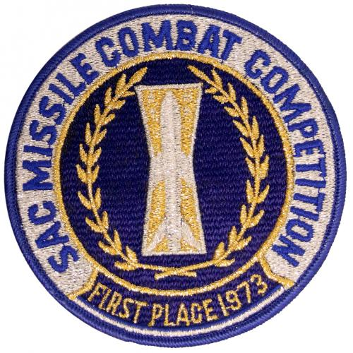 1973 SAC Missile Combat Competition - First Place