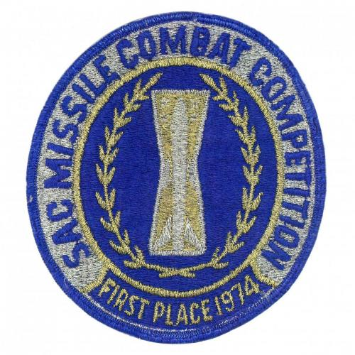 1974 SAC Missile Combat Competition - First Place