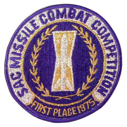 1975 SAC Missile Combat Competition - First Place