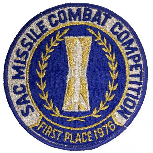 1976 SAC Missile Combat Competition - First Place