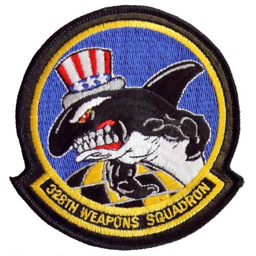 328th Weapons Squadron (328 WPS) (Type I, Style A)